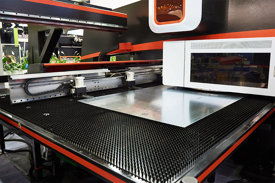 CNC Turret Punching and Stamping in Sacramento