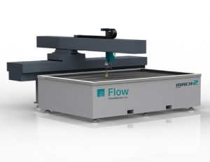 Flow Mach2 4020b Waterjet Cutting Machine