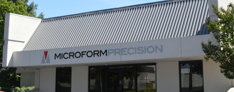 Microform Precision building in Sacramento