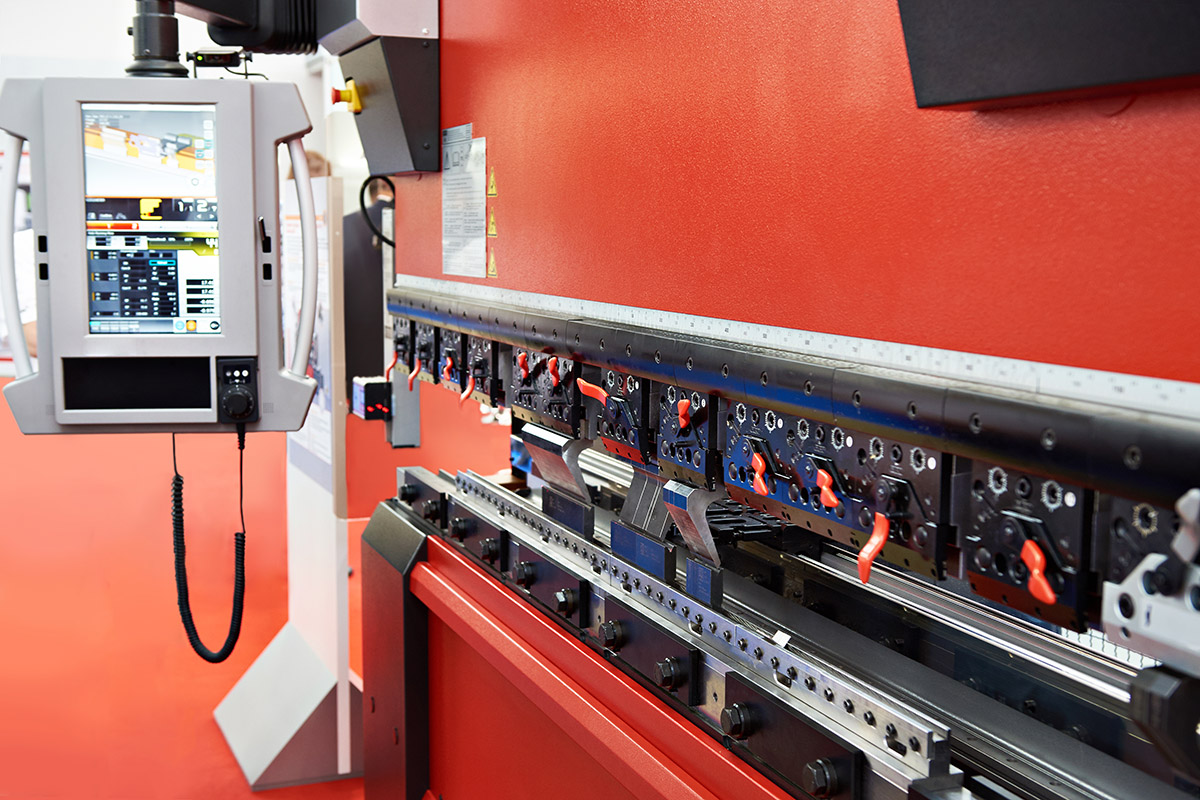 Press metal sheet bending CNC machine